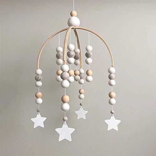 Nicole Knupfer Babybett Mobile Windspiel Rassel Spielzeug, Neugeborenen Kinderzimmer hängende Bettglocke,...