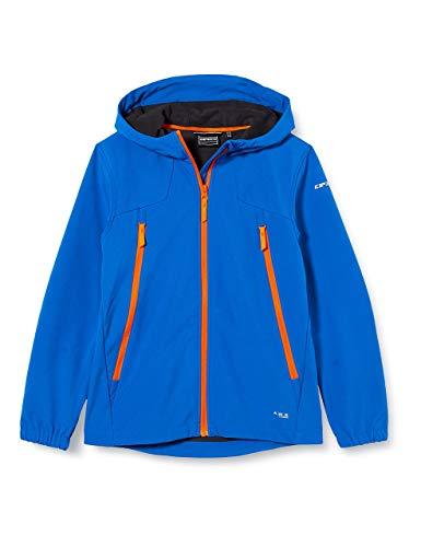 ICEPEAK Jungen KANEVILLE JR Softshell Jacke, blau, 116, 651895682I