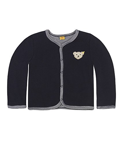 Steiff Baby-Unisex 6617 Sweatshirt, Blau Marine Blue 3032, 74