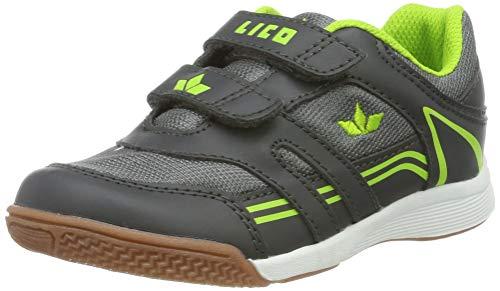 Lico Jungen Active Boy V Multisport Indoor Schuhe, Grau (Grau/Lemon Grau/Lemon), 29 EU