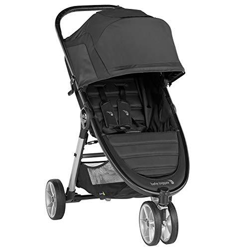 Baby Jogger City Mini 2 3-Rad Kinderwagen | leichter, zusammenklappbar und kompakt | Jet (schwarz)