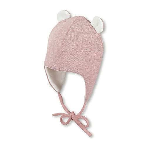 Sterntaler Inka-Mütze für Mädchen mit abstehenden Öhrchen, Gefüttert, Alter: 18-24 Monate, Größe: 51,...