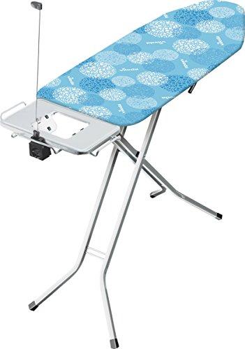 Vileda Solid Plus Bügelbrett, blau, 44 x 122 cm Bügelfläche