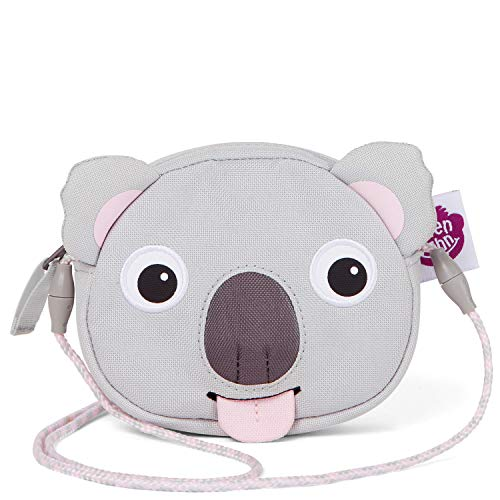 Affenzahn Portmonee für 1-5 Jährige im Kindergarten - Koala - Grau