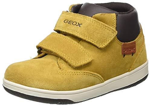 Geox Baby-Jungen B NEW FLICK BOY C Ankle Boot, Gelb (Yellow/Coffee), 25 EU