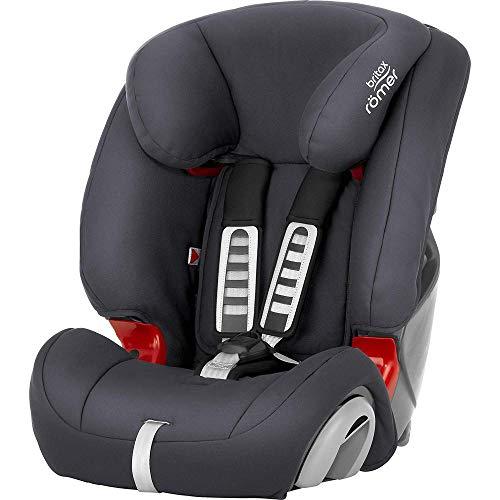 BRITAX RÖMER Kindersitz EVOLVA 1-2-3, Komfort und Flexibilität für Kinder von 9 - 36 kg (Gruppe 1/2/3), 9...