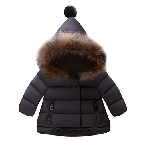 OVERMAL/_Baby Coats Winter 2019 New Kid Infant Cartoon Jackets Baby Toddler Warm Veat Waistcoat Clothes Hoodie Coat