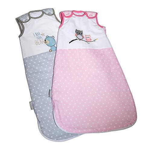 Nalaïa - Premium Babyschlafsack aus OEKO-TEX® 100 zertifizierter Bio Baumwolle für sicheren und gesunden...