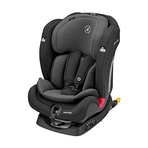 Maxi-Cosi Titan Plus, mitwachsender Kindersitz mit ISOFIX, ClimaFlow Funktion und Liegeposition, Gruppe 1/2/3...