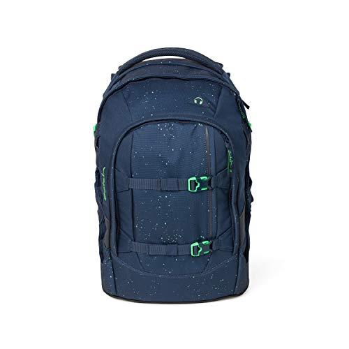 Satch pack Schulrucksack - ergonomisch, 30 Liter, Organisationstalent - Space Race - Blau