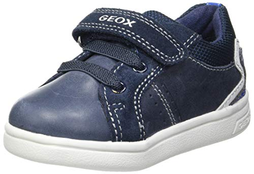 Geox Baby-Jungen B DJROCK Boy A Sneaker, Navy/ROYAL, 24 EU