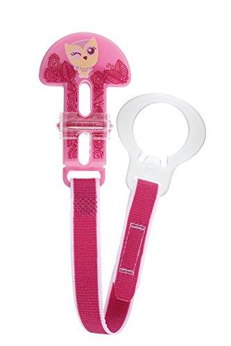 MAM Clip Fashion - Schnullerband für Mädchen