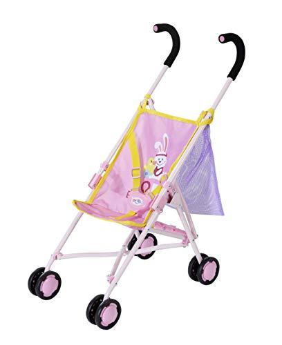 Zapf Creation 828663 BABY born Stroller with Bag Puppenwagen mit Tasche, einfach und schnell zusammenklappbar,...