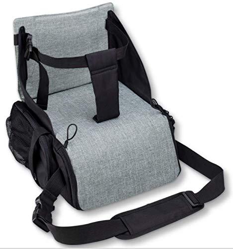 KIDUKU Boostersitz faltbar, mobiler Kindersitz als Sitzerhöhung und Reisesitz, ideal als Hochstuhl für...