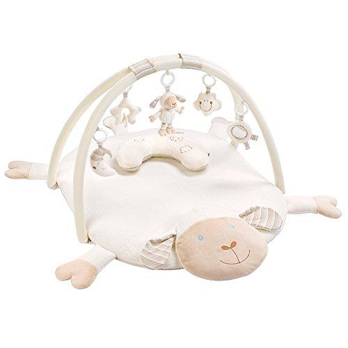 Fehn 154580 3-D-Activity-Decke Schaf / Spielbogen mit 5 abnehmbaren Spielzeugen für Babys Spiel & Spaß von...