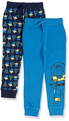 Spotted Zebra Disney Star Wars Marvel Fleece Jogger Sweatpants Pants, 2er-Pack Toy Story Pizza Party, 6-7...