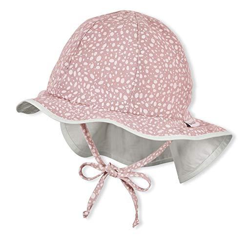 Sterntaler Baby-Mädchen Flapper 1412114 Hut, rosa, 49