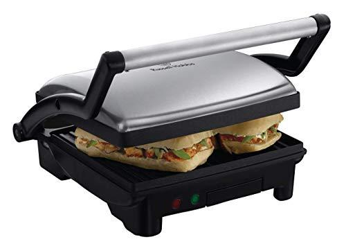 Russell Hobbs Kontaktgrill 3-in-1 (1800 Watt): Tischgrill (geöffnete Grillplatten)   Panini & Sandwich Maker...
