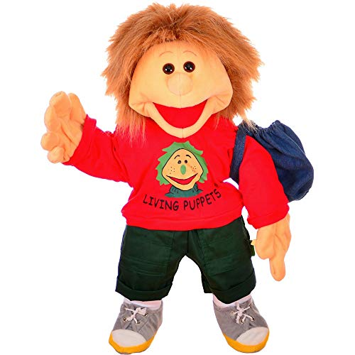 Living Puppets Gro�e Handpuppe Florian mit Badehose Groesse: 65 cm Farbe: rot Lieferumfang: Badehose im...
