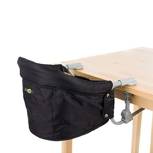 littleworld Tischsitz Luca - Babystuhl zum Befestigen am Tisch - gepolsterter Baby-Sitz mit ergonomischer...