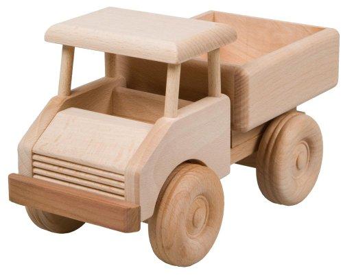 HOFMEISTER®, Kleiner Lastwagen Spielzeug Auto Kinder, oder, Dekoration, aus Buchenholz L215xB110xH125 mm,...