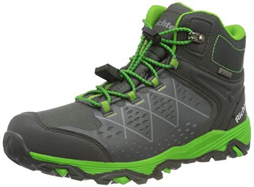 Richter Kinderschuhe TR-1 9245-8172 Walking-Schuh, 6401vulcano/Akz.n.Green, 39 EU