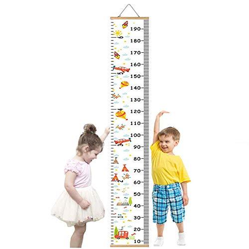 Messlatte Kinder, meßlatte kinder Wachstumsmesser Messleiste,für mädchen Jungs Kinderzimmer Dekor um...