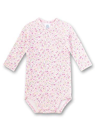 Sanetta Baby-Mädchen Wickelbody Spieler, Rosa (rosa 3813), 62 (Herstellergröße:062)