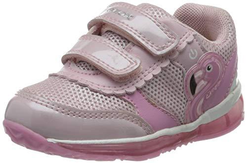 Geox Baby-Mädchen B TODO Girl C Sneaker, Pink (Pink C8004), 25 EU