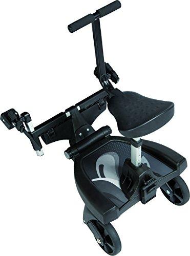 Fillikid Buggy-Board 180° mit 3fach verstellbaren Sitz | Filliboard Mitfahrbrett | Mitfahrbrett universal...