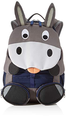 Affenzahn Kindergarten Backpack Large Friends Grey Don Donkey