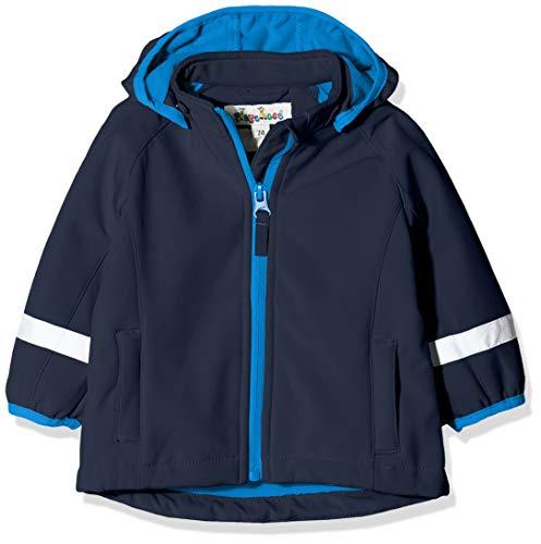 Playshoes Baby Mädchen Softshell-jacke Jacke, Blau (Marine 11), 86 EU