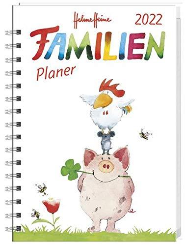 Helme Heine Familienplaner Buch A5 - Kalender 2022