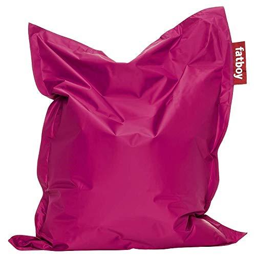 Fatboy® Junior pink   Original Nylon-Sitzsack   Klassisches Indoor Sitzkissen speziell für Kinder   130 x...