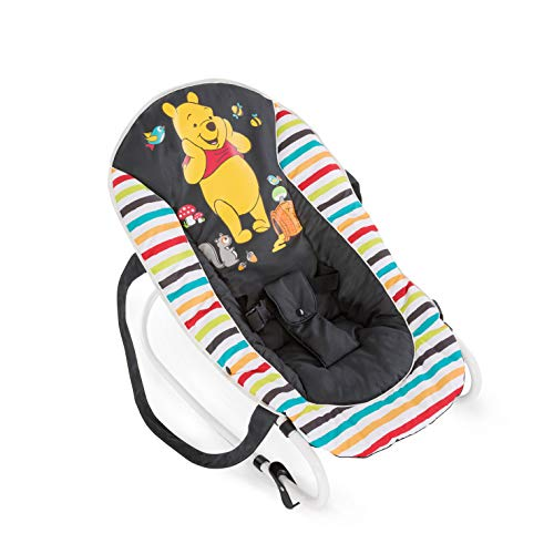 Hauck / Babywippe Rocky von Disney / Schaukelfunktion / verstellbare Rückenlehne, Sicherheitsgurt und...