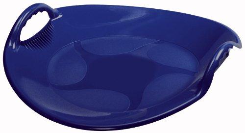 AlpenGaudi UFO-blau Schlitten-rodel-Unisex, one Size