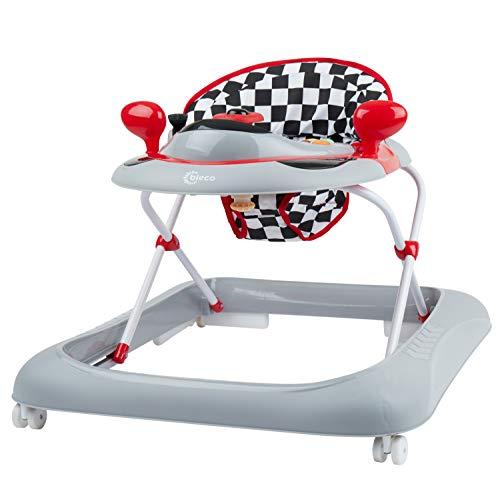 Bieco Baby Lauflernhilfe   3in1   Gehfrei baby ab 6 Monaten   Baby-Walker   Spielcenter mit...