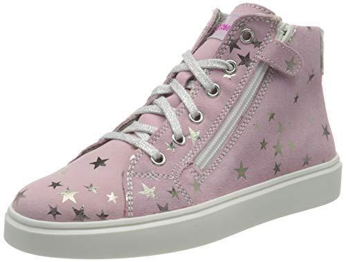 Richter Kinderschuhe Flora Sneaker, Candy/Silver, 29 EU