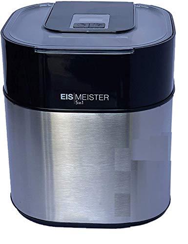 PerfectMix EISMEISTER Eismaschine Eis-creme zum selber machen,für 4 Personen,5in1 Machine - Speiseeismaschine...