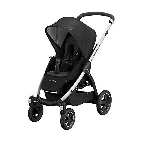 Maxi-Cosi Stella Kinderwagen, mit extra großem Sonnenverdeck und Outdoor-Reifen, inkl. praktischem...