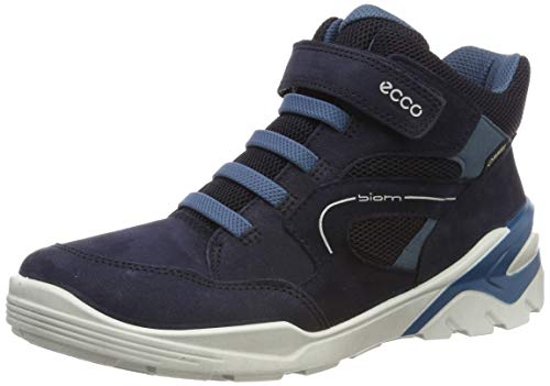 ECCO Jungen BIOM VOJAGE Hohe Sneaker Ankle Boot, Blau (Night Sky/Indian Teal 51296), 24 EU