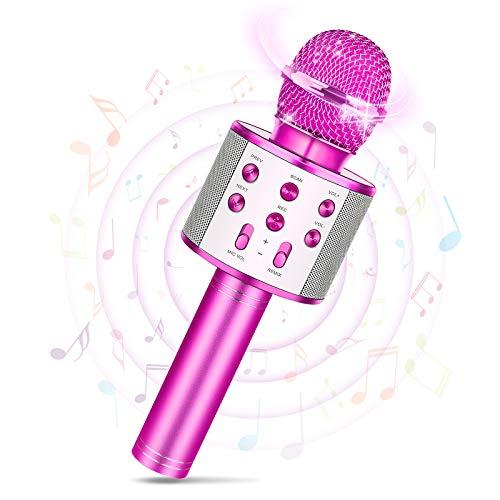 Tesoky Mädchen Geschenke 8 5 12 10 11 4 6 7 9 Jahre, Mikrofon Kinder Spielzeug Mädchen 4 6 7 10 5 8 Jahre...