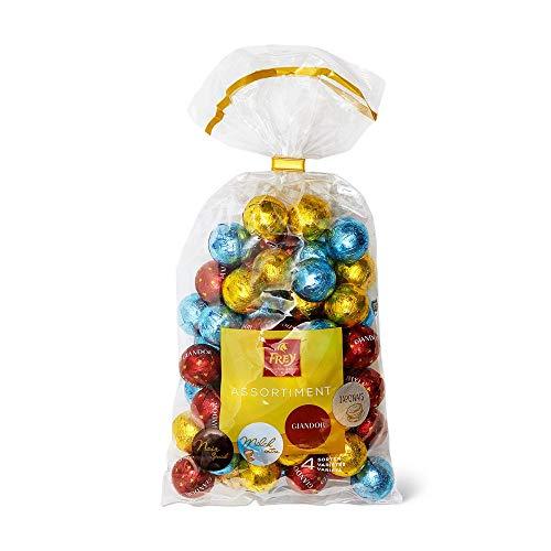 Frey Schokoladenkugeln Mischbeutel aus 4 Sorten 750g - Schweizer Milchschokoladenkugeln assortiert -...