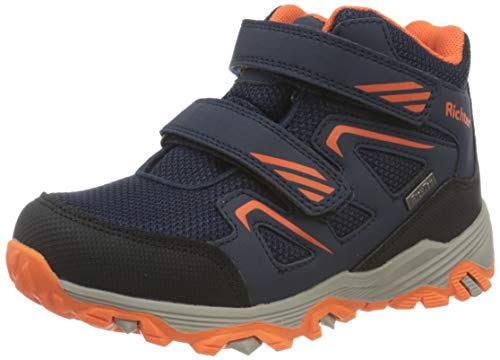 Richter Kinderschuhe TR-1 9251-8172 Walking-Schuh, 7201atlantic/akz.n.Orang, 27 EU