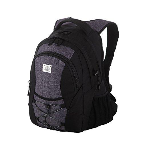 Rada Rucksack RS/3, Freizeitrucksack mit 39 Liter Volumen, DIN A4 Ordner kompatibler Schulrucksack für...