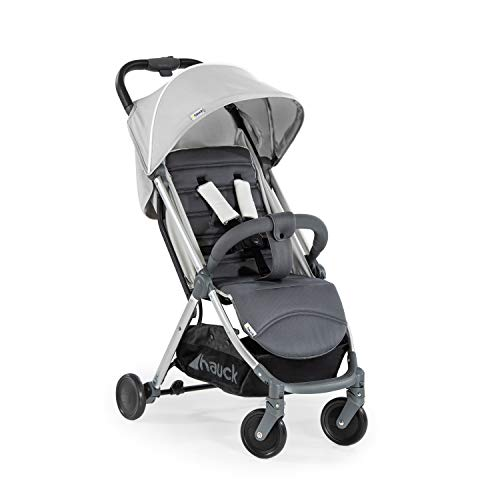 Hauck Swift Plus kompakter Buggy bis 18 kg mit Liegefunktion ab Geburt, extra klein klappbar,...