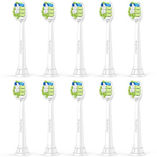 Brightdeal Ersatzbürsten für Philips Sonicare - Aufsteckbürsten Kompatibel mit Philips Sonicare Elektrische...
