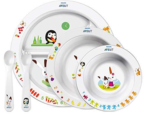 Löffel und Babygeschirr für den Beikoststart (BPA-frei)