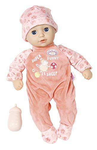 Zapf Creation 702956 Baby Annabell Little Annabell Puppe mit weichem Stoffkörper und Schlafaugen 36 cm,...