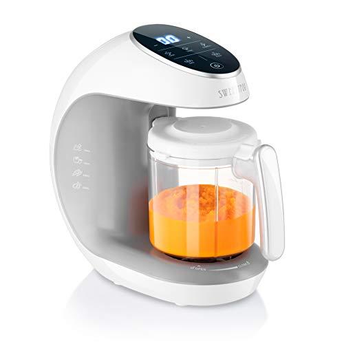 Multifunktions-Babynahrungszubereiter 7-in-1 - Dampfgarer, Mixer, Pulse, Automatische Reinigungsfunktion,...